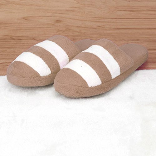 Clode®  Clode-bf-001017, Chaussons pour femme rose rose vif Coffee(Mens)