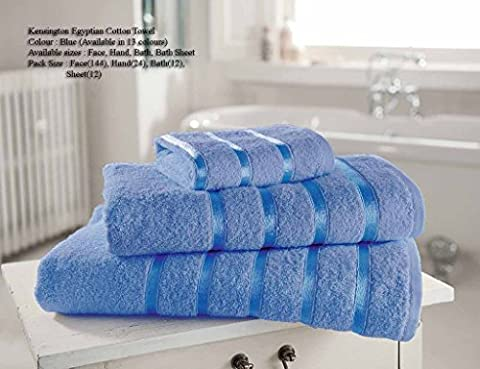 Egyptian Cotton Bath Sheet 600gsm Luxury Extra Large Thick Bathroom Towels Super Soft Combed Highly Absorbent High Quality Towels 90 x 140 Cm ,