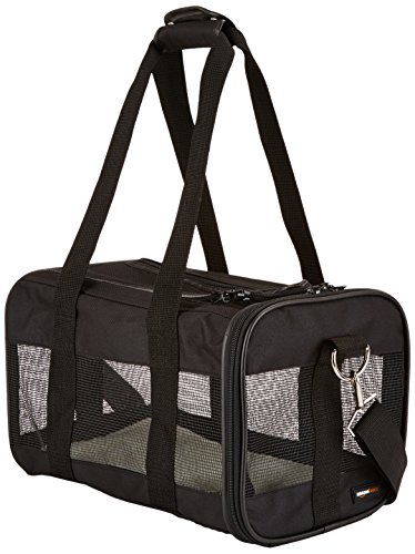 AmazonBasics-Black-Soft-Sided-Pet-Carrier-SmallMediumLarge