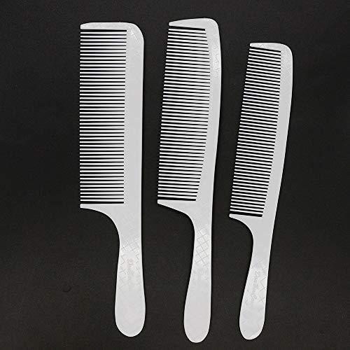 GMZSS Durable Mode High-end Mehrzweck Verschiedene Länge Zähne Kohlefaser-Kamm Für Männer Haare Schneiden Zähigkeit Super Starke Flattopper Kamm In Carbon Griff -