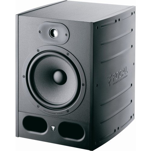 Focal Alpha 80 140W Black loudspeaker - loudspeakers (2-way, Wired, RCA/XLR, 140 W, 35 - 22000 Hz, Black)