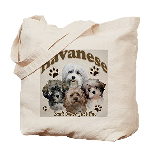 CafePress Havanese Cant Have Just One Mousepad Tragetasche, canvas, khaki, S -