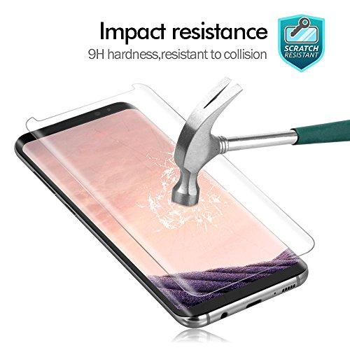 Protector de pantalla WZS para Samsung Galaxy S8