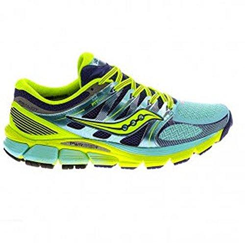 Saucony ZEALOT Zapatillas para correr para mujer, mujer, azul, 37 EU