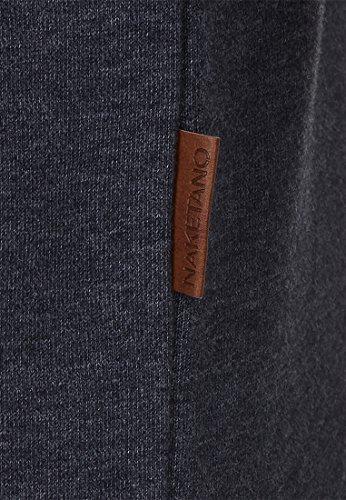 Naketano Male Sweatshirt Verdammte Order 66 II Indigo Blue Melange