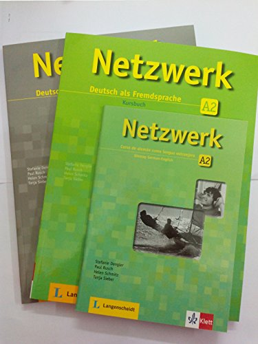 Netzwerk Deutsch als Fremdsprache A2 (Textbook + Workbook + Glossar) (with 2 CDs)