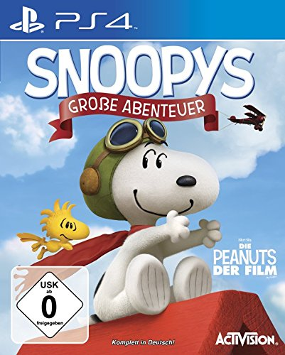 Snoopys Große Abenteuer - [PlayStation 4]