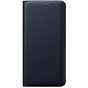 Samsung EF-WG928PBEGWW Etui pour Samsung Galaxy S6 Edge Plus Noir/bleu