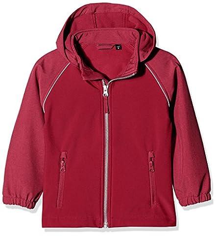 NAME IT Mädchen Jacke Nitalfa Softshell Jacket Anem MZ FO Camp Rosa (Anemone), 92