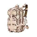 SYXL UK Outdoor Mountaineering Bag Camouflage Oxford Cloth Backpack High-grade Waterproof Backpack 35L