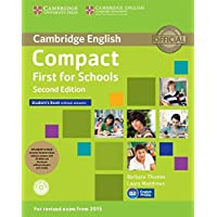 Compact First for Schools Student's Pack (Student's Book without Answers with CD-ROM, Workbook without Answers with…