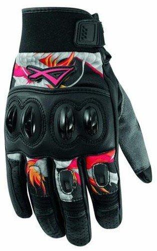 A-Pro, guanti da moto, in pelle id qualità, grigi, XL