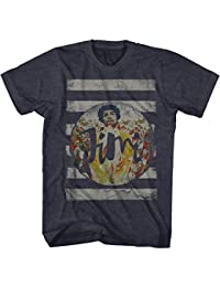 Jimi Hendrix - - Lignes T-shirt pour hommes