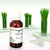 Allin Exporters Lemongrass Oil - 100% Pure , Natural & Undiluted - 15 ML