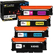 Cartlee 4 Compatible Toner Cartridges Replacement for CLT-K404S CLT-C404S CLT-M404S CLT-Y404S (1 Black, 1 Each