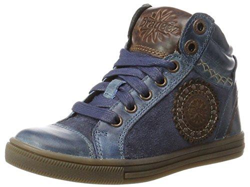 Braqeez Mädchen IGGY1 Hohe Sneaker, Blau (Jeans), 29 EU