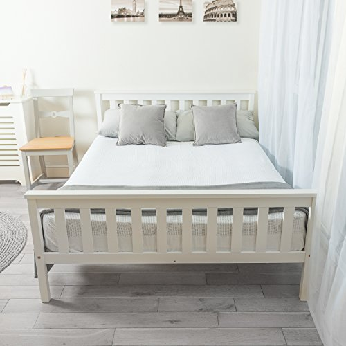 Home Treats Double Bed In White ...
