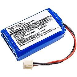 subtel® Batterie Premium Compatible avec JBL Flip 2, Flip II (2013), AEC653055-2P 2000mAh Accu Rechange Remplacement