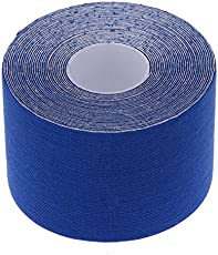 Lepakshi E: 1 Roll 5Cm X 5M Muscle Tape Sports Tape Therapeutic Kinesiology Tape Sports Safety Bandage Strain Injury Support Sports