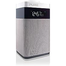 Pure POP Midi Radio (DAB/DAB+ Digital- und UKW-Radiowecker) weiß