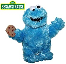 Rue Sésame - Figure Peluche Cookie Monster 24 cm