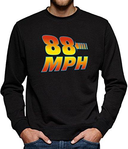 TLM 88 MPH Sweatshirt Pullover Herren S (Hoverboard Zukunft In Zurück Die Kostüm)
