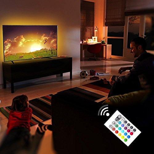 preisvergleich led strip tv hintergrundbeleuchtung 2m 6. Black Bedroom Furniture Sets. Home Design Ideas