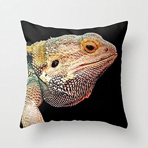 Mi Miel almohada dragón Barbudo manta almohada por catspawsfor tu hogar
