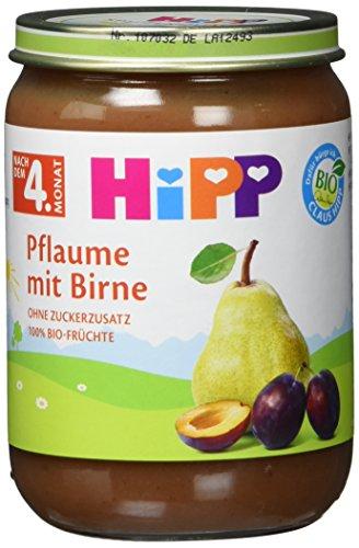 Preisvergleich Produktbild HiPP Früchte Pflaume mit Birne,  6er Pack (6 x 190 g)