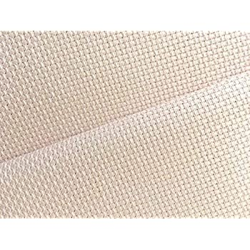 cream 11 count  Aida 55 x 50 cm Fat Quarter Zweigart Ivory