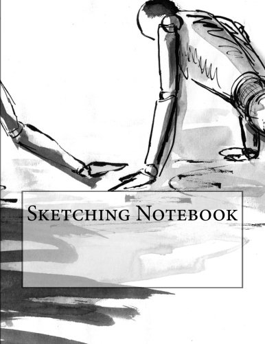 Sketching Notebook with 400 Blank Pages di Wild Pages Press