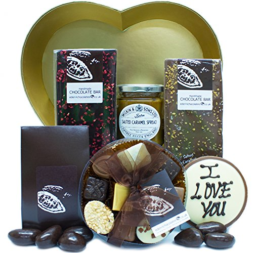 WITH ALL MY HEART CHOCOLATE HAMPER - Eden4chocolates Chocolate Hampers Perfect for Birthday Easter Christmas Mothers Day and Fathers Day