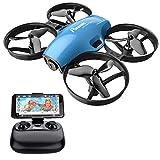 Potensic Drone con Telecamera HD Mini Drone Telecomando A30W Quadricottero WiFi...