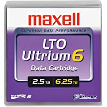 1/2 Ultrium LTO-6 Cartridge, 2776 Ft, 2.5TB, Sold as 1 Each