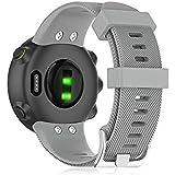 Buwico Horloge Strap Voor Garmin Forerunner 45/Garmin Forerunner 45S, Siliconen Vervanging Horlogeband Sport Fitness Band Arm
