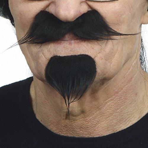 Mustaches Schwarzer Victor-Emanuel fälschen, selbstklebend ()