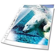 Durable 267719 ProsPekthüllen (Din A4, Premium, 0,08 mm) Beutel mit 50 Stück glasklar