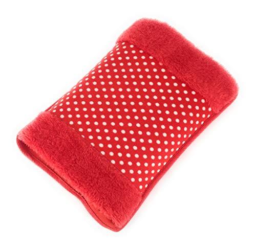 MovilCom® Bolsa de Agua Caliente Eléctrica | Recargable en sólo 15 minutos | Calentamanos | Dolor muscular, espalda, menstrual 600Watt (Mod.06)