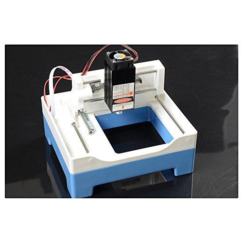 Preisvergleich Produktbild 2000MW Desktop DIY Plastik Laser Gravierer Engraver Gravur Gravieren Schnitzen Schneiden Maschine Graviermaschine Drucker Laserdrucker