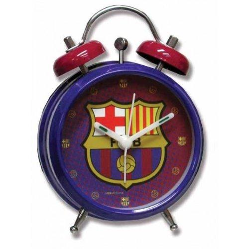 FC Barcelona – Despertador pequeño campanas Barcelona CF, color azul