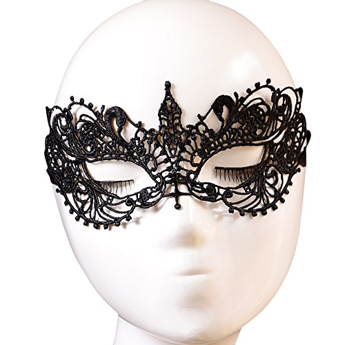 arze Spitze Maskerade Masken weiche Augen Maske venezianischen Partei Maske Bar Halloween Tanz Ball Kostüm (Maskerade-ball-masken Für Halloween)