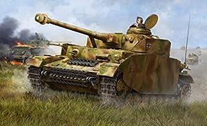 Trompetista Modelo Tanque alemán Panzer IV Ausf.H Media Tank Escala 1:16