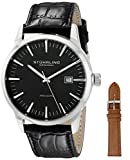 Stuhrling Original Classic Analog Black Dial Men's Watch - 555A.01 best price on Amazon @ Rs. 5683