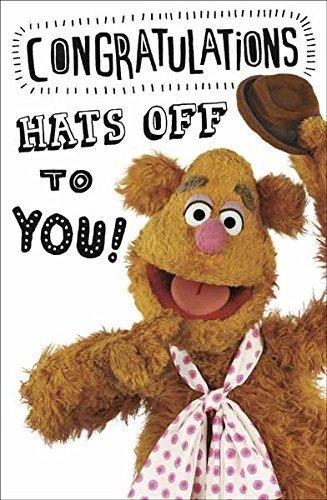 The Muppets Fozzy congratulazioni biglietto d' auguri