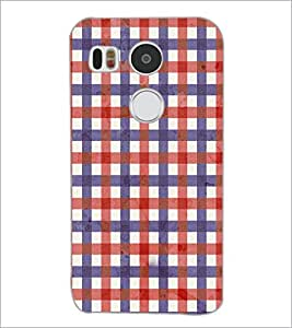 PrintDhaba Pattern D-3695 Back Case Cover for LG NEXUS 5X (Multi-Coloured)