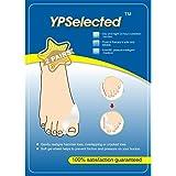YPSelected 2 pares Gel Bunion Corrector Toe Protector Enderezadora Toe Spreader