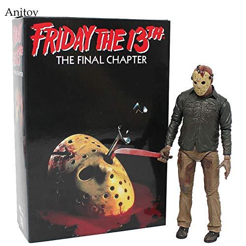 . Das letzte Kapitel Jason Voorhees PVC Figur Sammler Spielzeug 18cm KT4069 ()