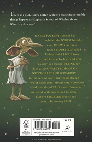 Image of Harry Potter and the Chamber of Secrets: 2/7 (Harry Potter 2)