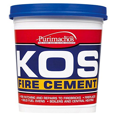 Everbuild KOS Ciment réfractaire Noir 500g EVBKOSBKL500