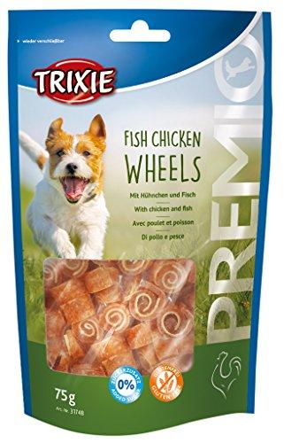 Trixie Fish Chicken Wheels Premio, 75 g